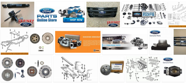 Ford Genuine Auto Parts - Where Do I Buy Ford OEM Parts? Ford Car Parts