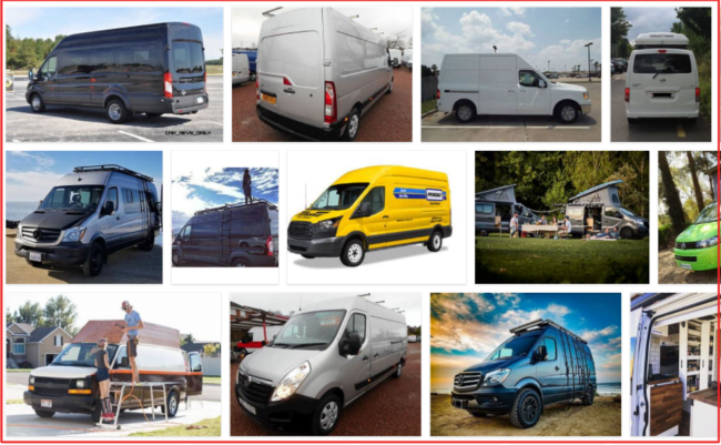 High Roof Cargo Vans - What Ford Van Has the Highest Roof? Ford Models
