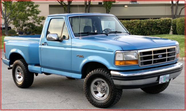 1992 Ford F150 (with Photos) & Used Ford F150 1992 for Sale $106 – Review *2021 Ford Models